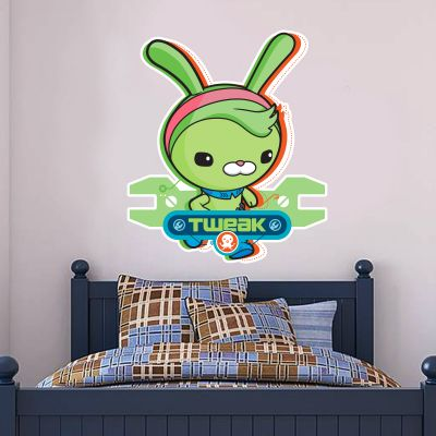 Octonauts Tweak Bunny Cut Out Wall Sticker Mural