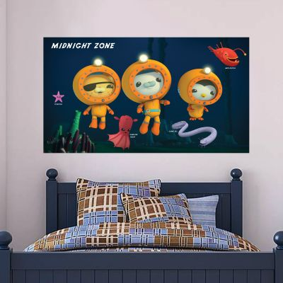 Octonauts Midnight Zone Wall Sticker Mural
