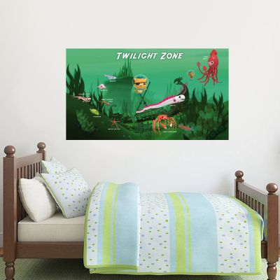 Octonauts Twilight Zone Wall Sticker Mural