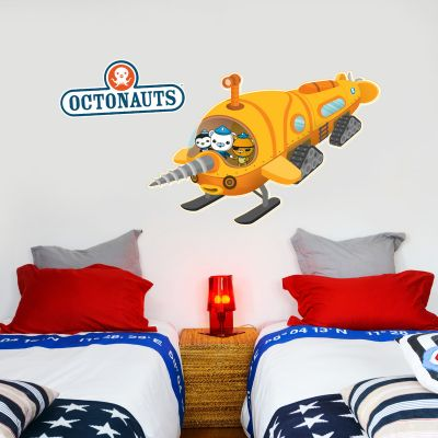 Octonauts Polar Exploration Submarine GUP Wall Sticker Mural