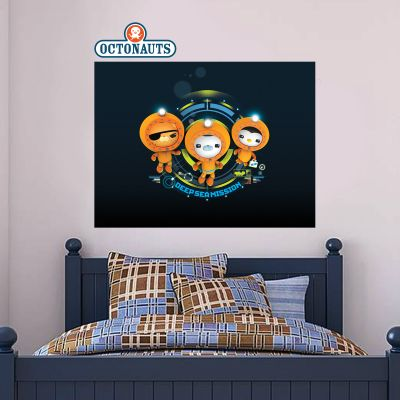 Octonauts Deep Sea Mission Wall Sticker Mural