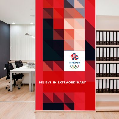 Team GB Full Wall Mural