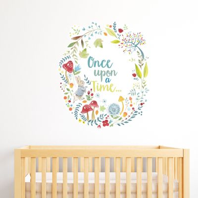 "Peter Rabbit ""Once Upon A Time"" Wall Sticker Mural"