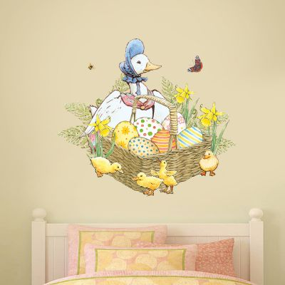 Peter Rabbit Jemima Puddle Duck and Ducklings Wall Sticker Mural
