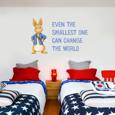 Peter Rabbit Even The Smallest Wall Sticker Mural