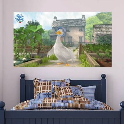 Jemima Puddle Duck Hill Top Farm Wall Sticker Mural