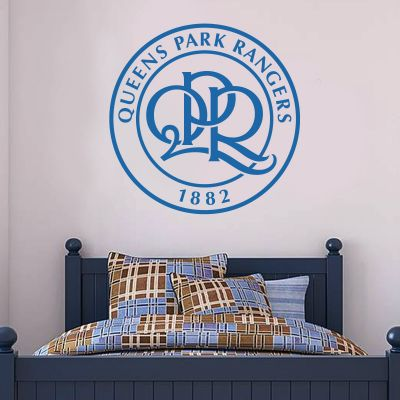 Queens Park Rangers F.C. - Crest + Hoop Wall Sticker Set