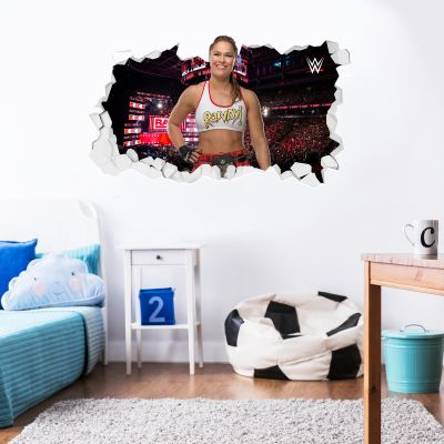 WWE - Rhonda Rousey Broken Wall Sticker