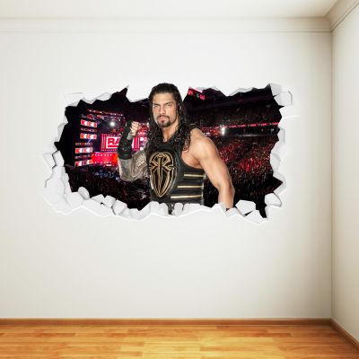 WWE - Roman Reigns Broken Wall Sticker