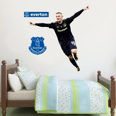 Everton Football Club Wayne Rooney Celebration Wall Mural Sticker