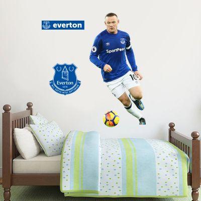 Everton Football Club Wayne Rooney Player Wall Mural Sticker
