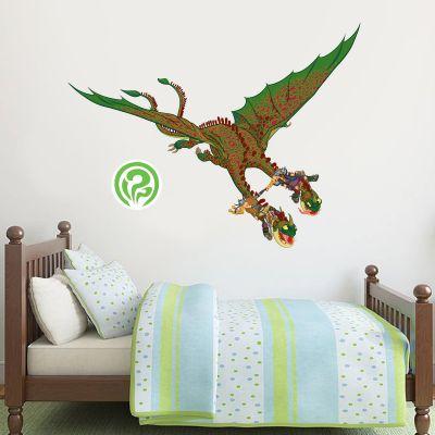 How To Train Your Dragon - Ruffnut & Tuffnut + Barf & Belch Wall Sticker Set