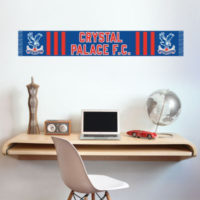 Crystal Palace Football Club Scarf Design Wall Sticker