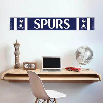 Tottenham Hotspur Football Club Scarf Wall Sticker Vinyl