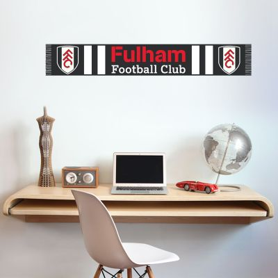 Fulham Football Club Scarf Design Wall Sticker
