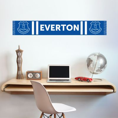 Everton Football Club - Bar Scarf Wall Sticker