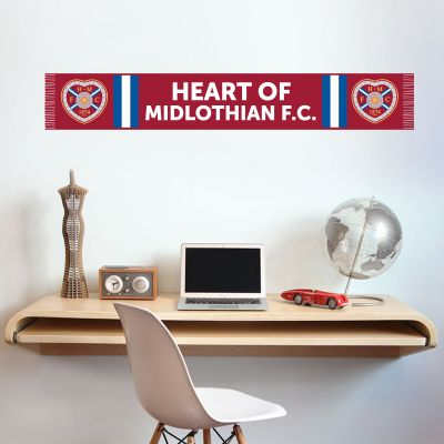 Hearts Football Club - Scarf Wall Sticker