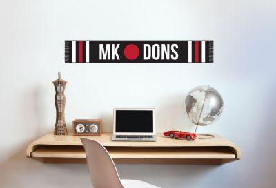 MK Dons - Club Scarf Mural