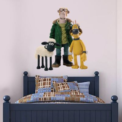 Shaun The Sheep - Shaun And Friends Wall Sticker