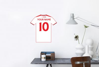 MK Dons - Personalised Shirt Mural