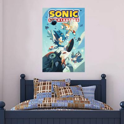 Sonic The Hedgehog - Sonic and Tails Wall Mural SONIC18