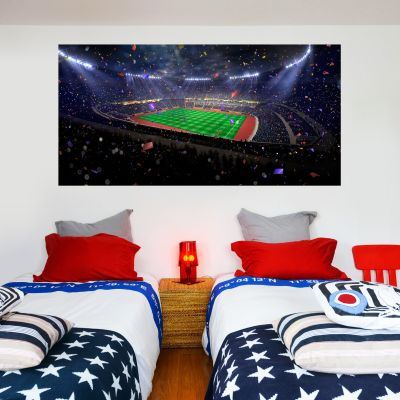Football Stadium Celebration Wall Sticker