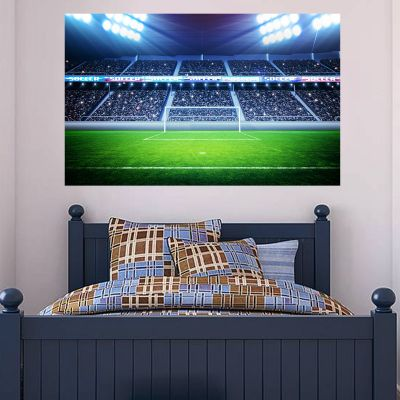 Football Stadium Goal Wall Sticker