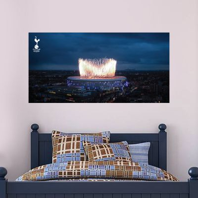 Tottenham Hotspur Football Club - Stadium Mural (Outside) + Spurs Wall Sticker Set