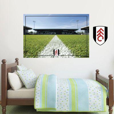 Fulham F.C. - Craven Cottage Stadium & Crest Wall Sticker