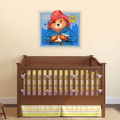Paddington Bear - Paddington Stamp Wall Sticker