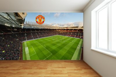 Manchester United Old Trafford Stadium Full Wall Mural