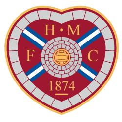 Hearts FC Wall Stickers