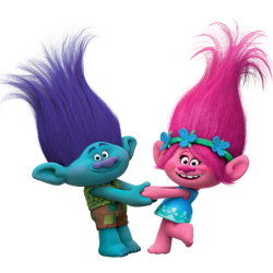 Trolls Movie Bedroom Wall Stickers