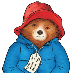 Paddington Bear Wall Sticker