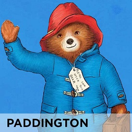 Paddington Bear Wall Stickers