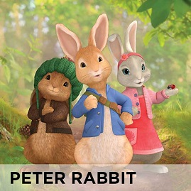 Peter Rabbit TV Wall Stickers